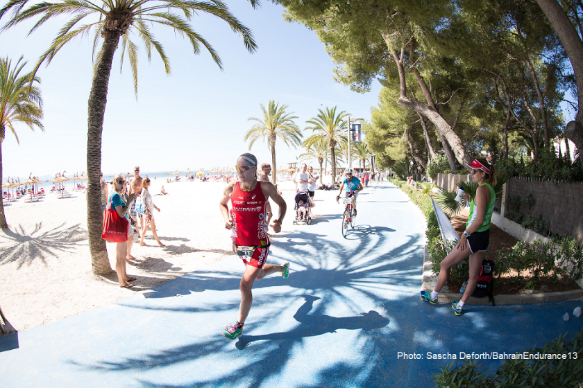 In her first race as a member of the Bahrain Endurance 13 team, Daniela Ryf wins Ironman 70.3 Mallorca