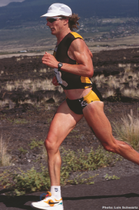 Mark Allen on the way to victory at the 1993 Ironman World Championship. Photo: Lois Schwartz