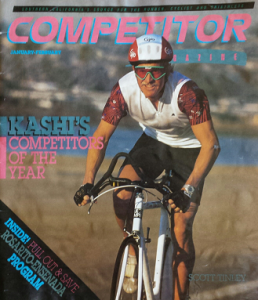One of our Competitors of the Year for 1988, Tinley won Ironman New Zealand, was 2nd at Ironman Japan, and 4th in Kona.