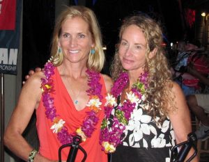 The newest members of the IRONMAN Hall of Fame Ali'i: Heather Fuhr and Lori Bowden