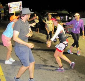 If you can stop for a quick dance at Mile 19…You. Are. A. Warrior!
